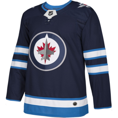 Winnipeg Jets Adidas Authentic Home NHL Jersey