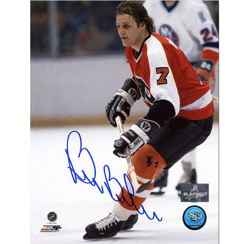 Bill Barber Philadelphia Flyers Autographed Action 8x10 Photo