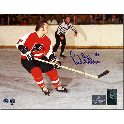 Bill Barber Philadelphia Flyers Autographed Horizontal Action 8x10 Photo