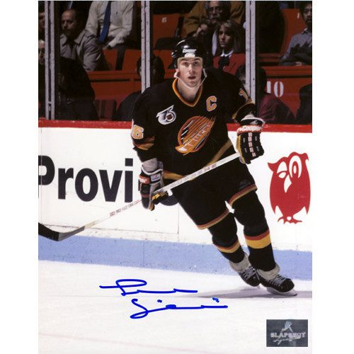 Trevor Linden Captain Vancouver Canucks Autographed 8x10 Photo