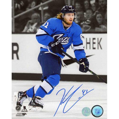 Kyle Connor Winnipeg Jets Autographed Aviator Spotlight 8x10 Photo