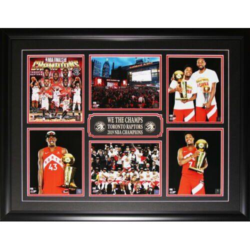 Toronto Raptors 2019 NBA Finals Championship 6 Photo Collector Frame