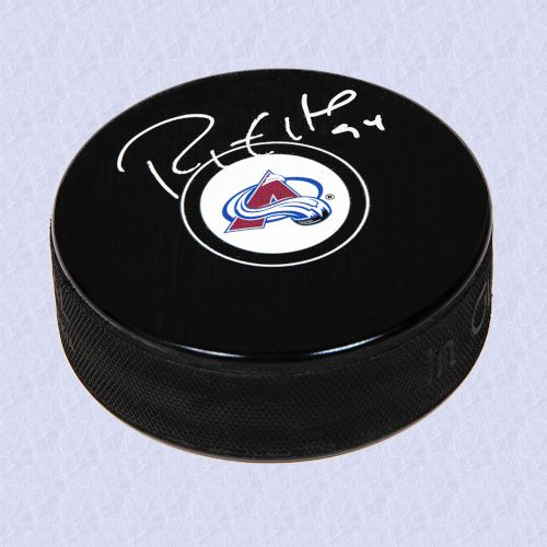 Ryan Smyth Colorado Avalanche Signed Autograph Model Hockey Puck