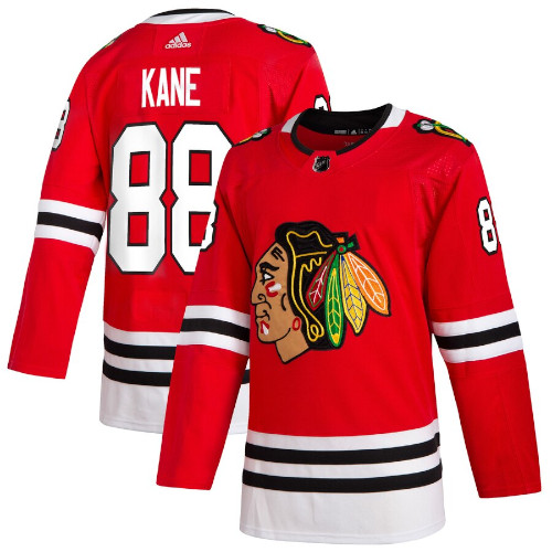 Patrick Kane Chicago Blackhawks Adidas Authentic Home NHL Jersey
