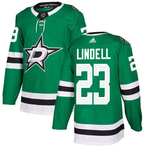 Esa Lindell Dallas Stars Adidas Authentic Home NHL Hockey Jersey