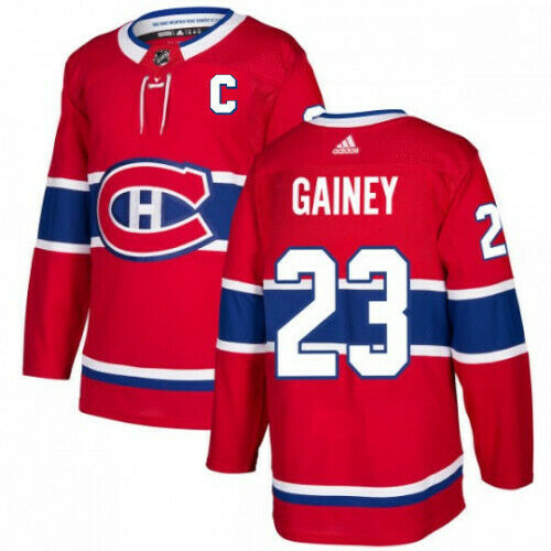 Bob Gainey Montreal Canadiens Adidas Authentic Home NHL Jersey