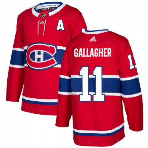 Brendan Gallagher Montreal Canadiens Adidas Authentic Home NHL Jersey