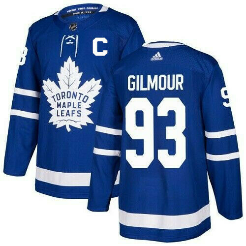 Doug Gilmour Toronto Maple Leafs Adidas Authentic Home NHL Jersey
