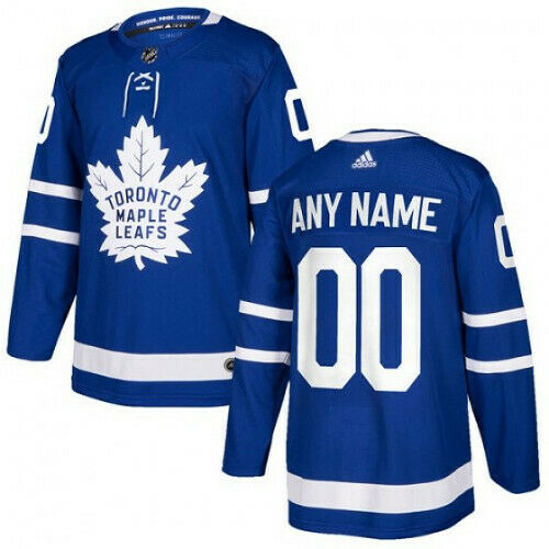 Toronto Maple Leafs Adidas Authentic Home Jersey Any Name and Number