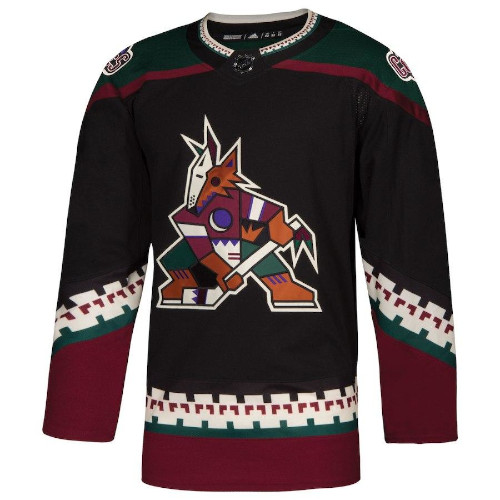 Arizona Coyotes Adidas Authentic Kachina Alternate NHL Jersey