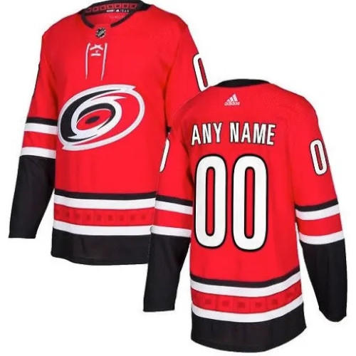 Carolina Hurricanes Adidas Authentic Hockey Jersey Any Name and Number