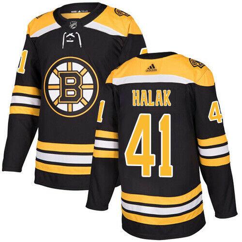 Jaroslav Halak Boston Bruins Adidas Authentic Home NHL Jersey