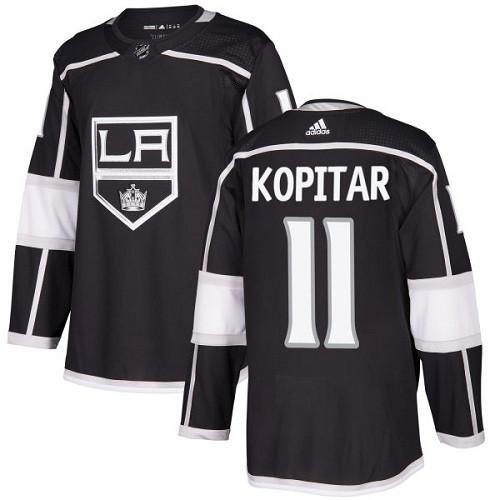 Anze Kopitar Los Angeles Kings Adidas Authentic Home NHL Hockey Jersey