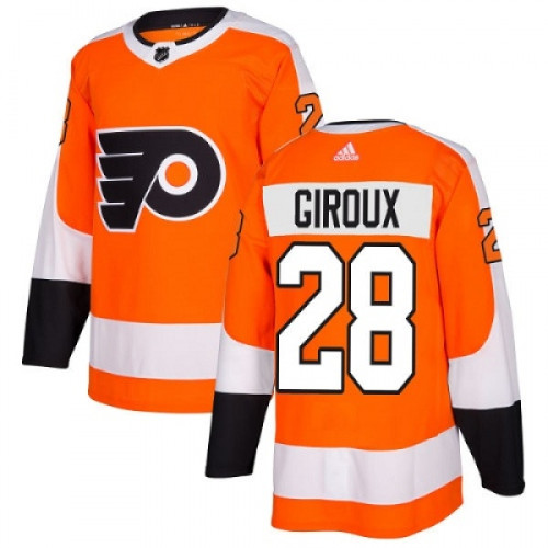 Claude Giroux Philadelphia Flyers Adidas Authentic Home NHL Hockey Jersey