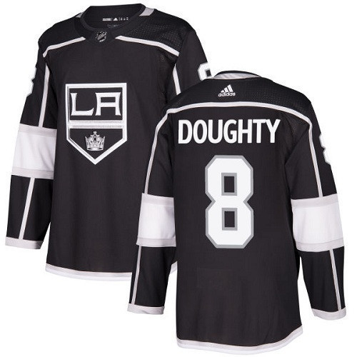 Drew Doughty Los Angeles Kings Adidas Authentic Home NHL Hockey Jersey