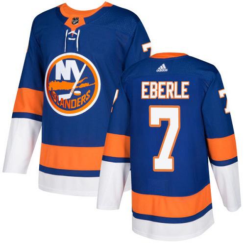 Jordan Eberle New York Islanders Adidas Authentic Home NHL Hockey Jersey