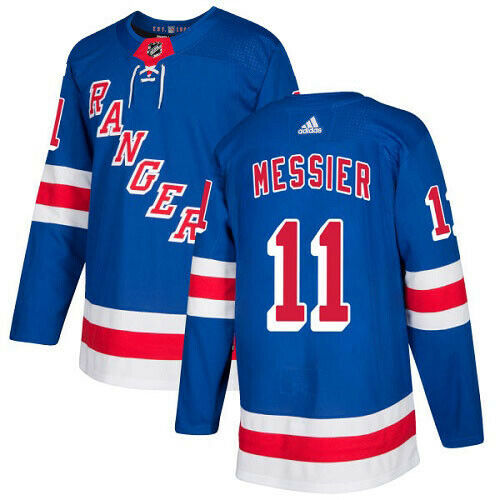 Mark Messier New York Rangers Adidas Authentic Home NHL Hockey Jersey