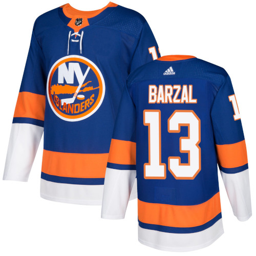 Mathew Barzal New York Islanders Adidas Authentic Home NHL Hockey Jersey