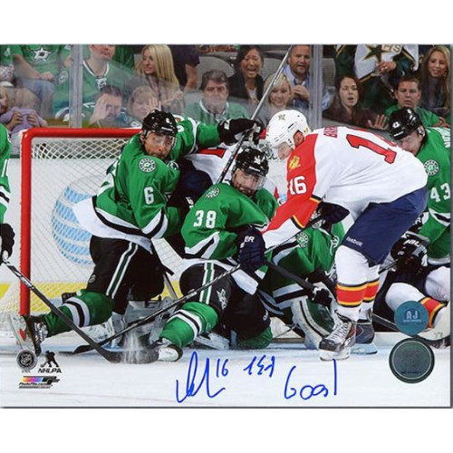Aleksander Barkov Florida Panthers Signed 8X10 Photo 1st Goal Inscribed