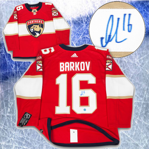 Aleksander Barkov Florida Panthers Signed Adidas Authentic Hockey Jersey