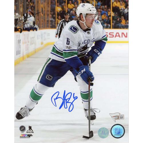 Brock Boeser Vancouver Canucks Signed 8x10 Photo