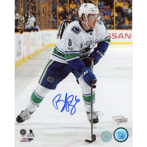 Brock Boeser Vancouver Canucks Signed 8x10 Photo