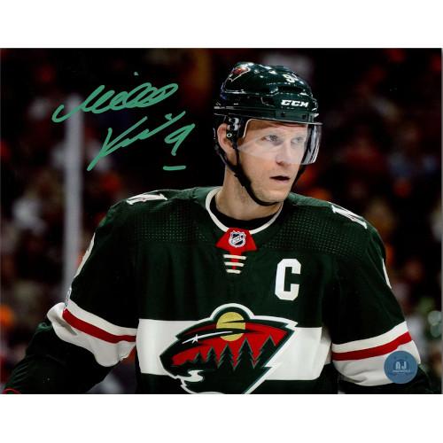 Mikko Koivu Minnesota Wild Signed 8x10 Photo