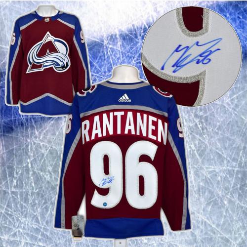 Mikko Rantanen Colorado Avalanche Autographed Adidas Home Jersey