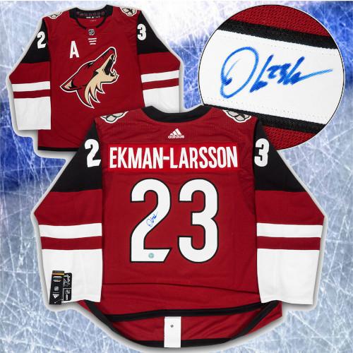Oliver Ekman-Larsson Arizona Coyotes Signed Adidas Home Hockey Jersey