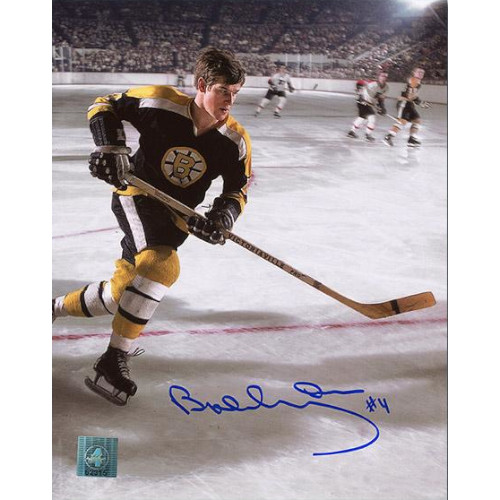 Bobby Orr Boston Bruins Signed 8X10 Vintage Action Photo GNR