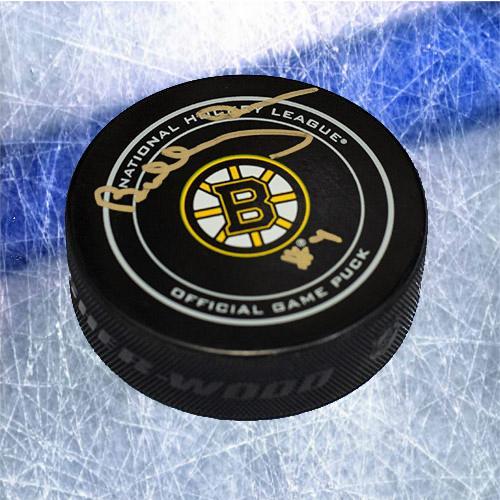 Bobby Orr Boston Bruins Signed Official Game Hockey Puck GNR