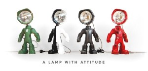 Tech Lamp with Attitude