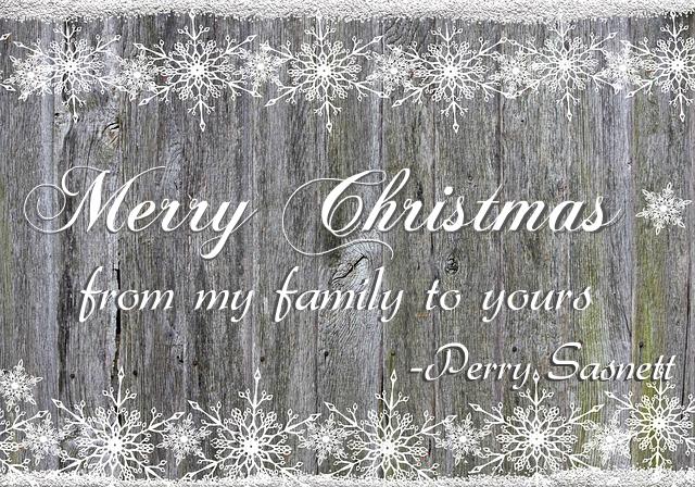 Merry Christmas from Perry Sasnett