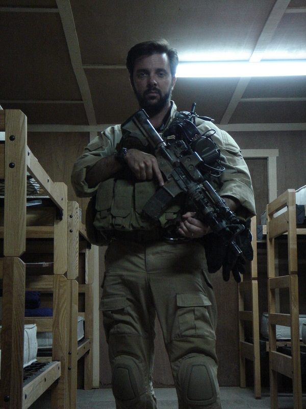 CWO Perry Sasnett Afghanistan 2005