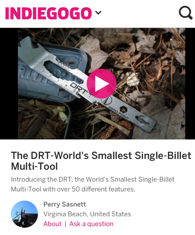 DRT Indiegogo Campaign