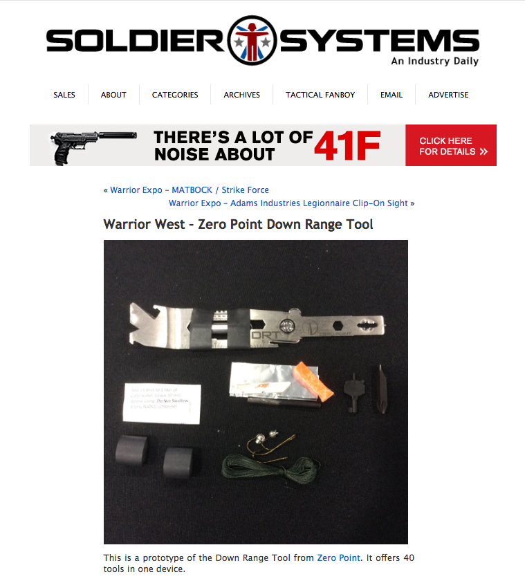 DRT Kickstarter Soldier Systems