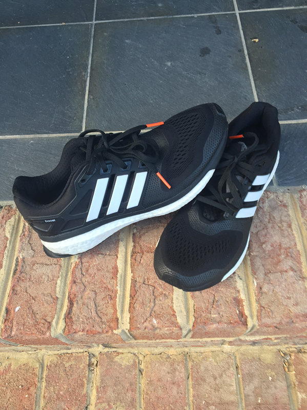 Perry Sasnett Adidas Energy Boost Running Gear
