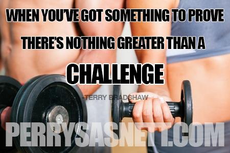 challenge-perry sasnett
