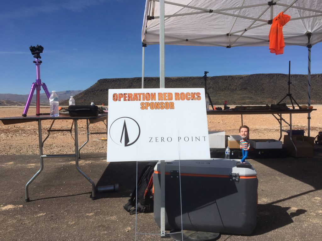 Little Perry at Operation Red Rock Zero Point Booth
