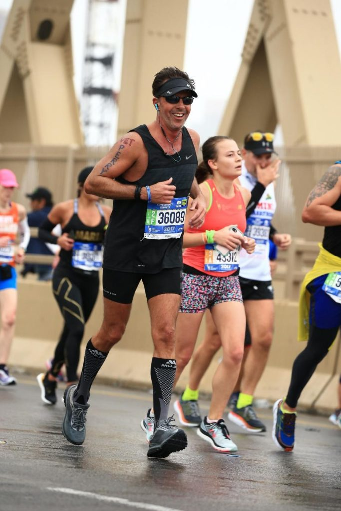 NYC Marathon Perry Sasnett