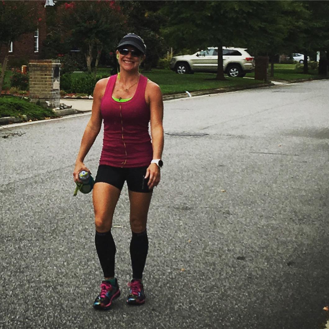 Stacy Sasnett Marathon Training