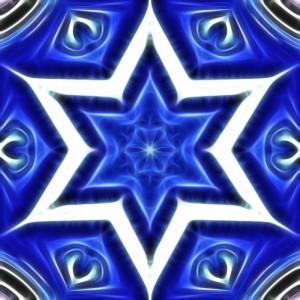Blue Star of David 1