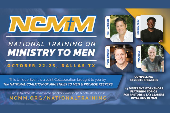 Upcoming Event: National Training on Ministry to Men