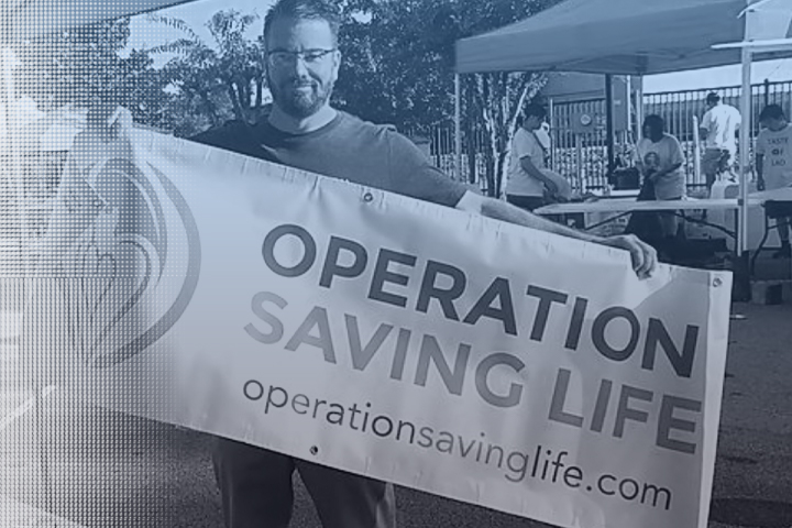 Taking a Risk to Love Others — and Save Lives