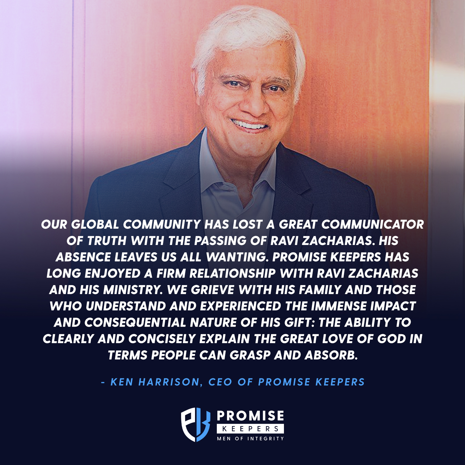 The Passing of Ravi Zacharias
