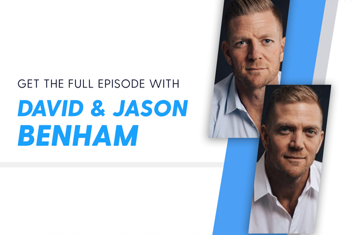 In 'On the Edge with Ken Harrison,'  The Benham Brothers Reveal the Secret of Courage