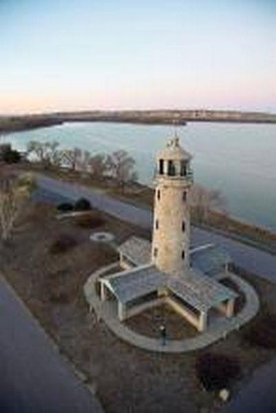 Lighthouse at Lake Minatare