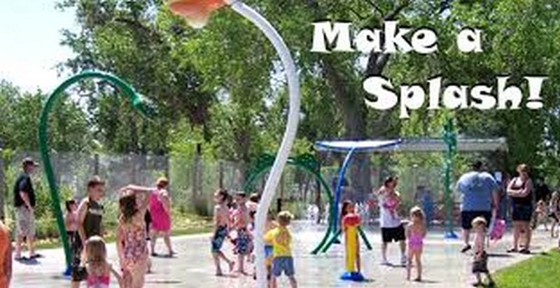 Splash Pad at the Zoo