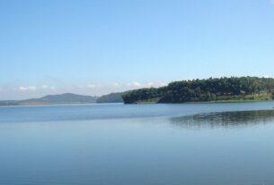 Barragem em Mogi das Cruzes SP