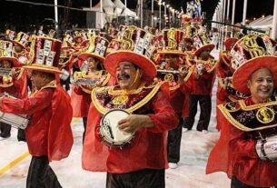 Desfile Carnaval Mogi das Cruzes SP